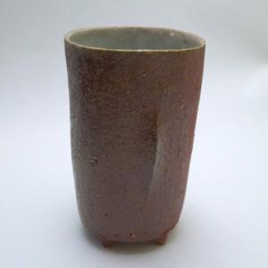 焼きしめ ビアカップ