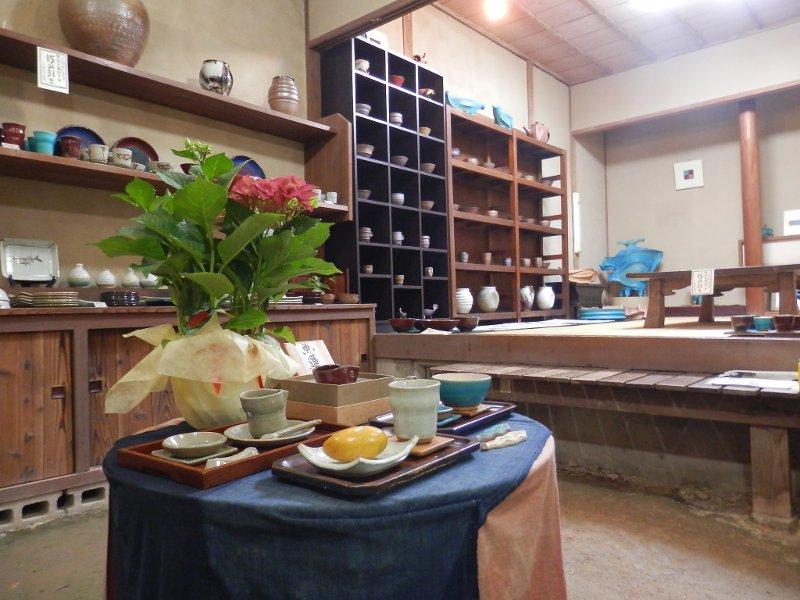 陶器展示室